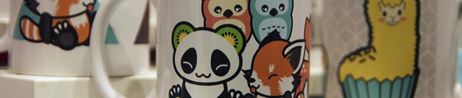 photo des mugs pandakiwi