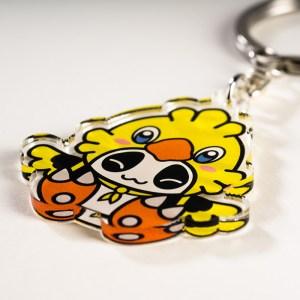 Porte clés Panda Fantasy Pandacobo