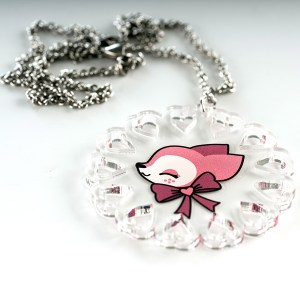 Collier kawaii biche
