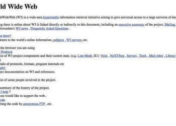 ilk-web-resmi-sayfasi