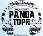 Panda Top 20 August 2017