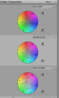 Colour grading in Sony Vegas