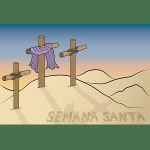cruces de semana santa