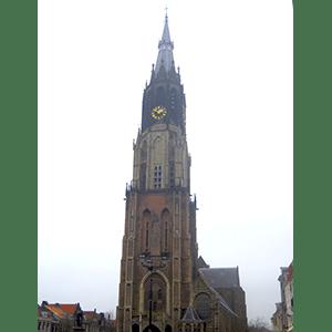 Nieuwe Kerk, la catedral de Delft, Países Bajos.
