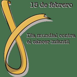 Listón amarillo (Día contra el cáncer infantil)