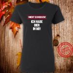 Lustiger Bier Spruch Biertrinker Geschenk Party Design Shirt