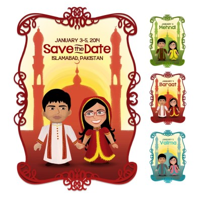 Sundus' Save the Date