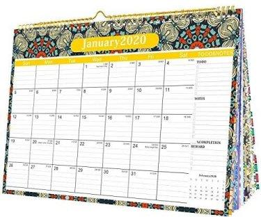 calendrier sorte de planning qui aide à s'organiser