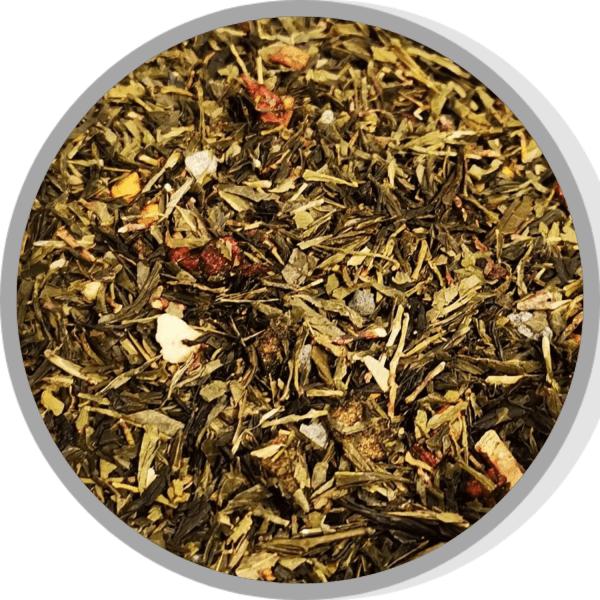 thé vert passion mangue