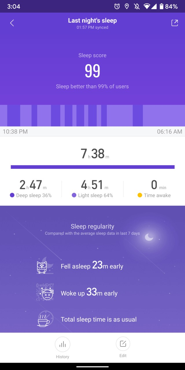 How to sleep fast and track it using AmazFit