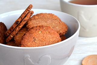 Biscotti integrali senza lievito
