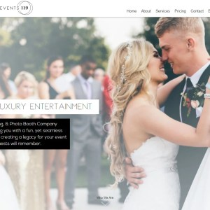 Wedding Vendor Website Design
