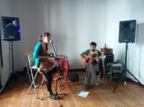 Camila Monasterio y Javi Ochoa
