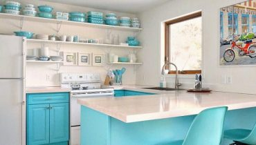 Open Kitchen Shelves ideas
