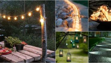 awesome garden lights ideas