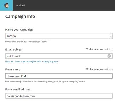 Campaign info