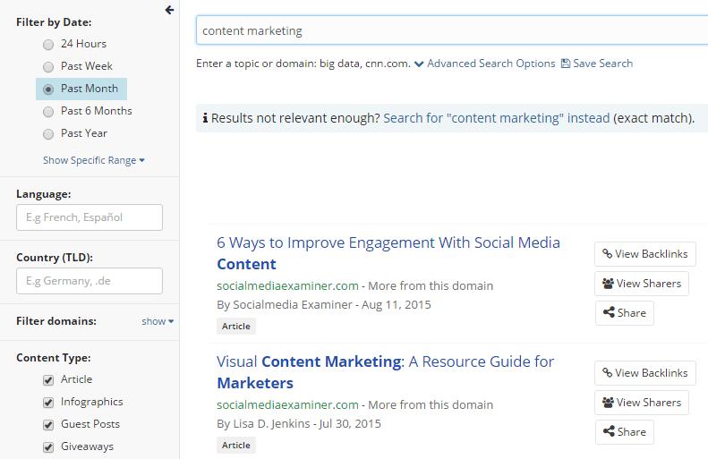 Popular contents past month