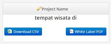 Save dalam format CSV