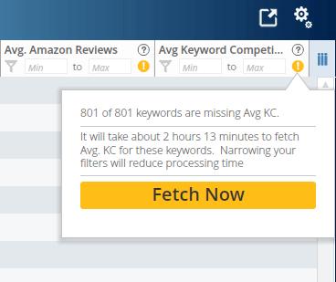 Mencari tingkat kesulitan keyword