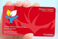 Kad Peduli Sihat Selangor Untuk Keluarga