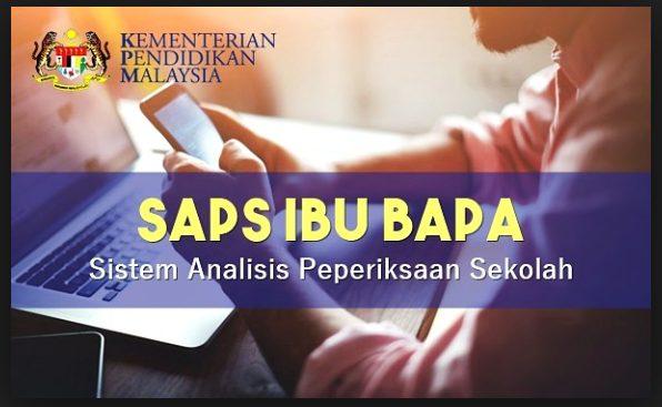 SAPS Ibu Bapa 2019 Semakan Keputusan Peperiksaan Terkini Pelajar