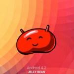Logo Jelly Bean di Google Nexus 10