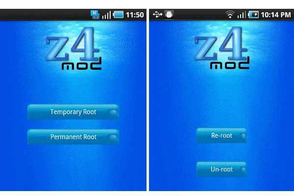 Teknik Rooting Handle Android dengan menggunakan Z4root – | Tip