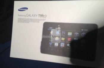 Penampakan Galaxy Tab 3 di PhoneArena