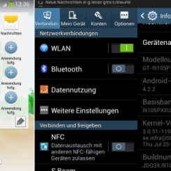 Samsung Galaxy S2 Plus Jerman Android 4.2.2