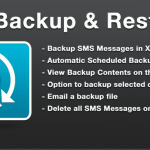 SMS, Backup, Restore
