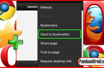 Tips Android, BookMark, Browser