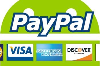 Play Store, Paypal, Pembayaran, kartu kredit