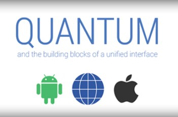 Google I/O, Quantum Paper, Desain baru