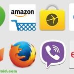 update ebay, update Amazon, update Flickr, update viber, update Mozilla, update Fenix, Playstore