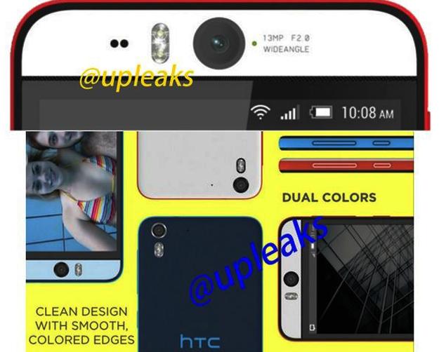 HTC, HTC Desire Eye, Kamera depan 13MP, Selfie Kamera