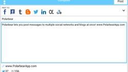 Aplikasi Android, PolarBear, Twitter, FB, Sosmed