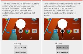 Google Now, Tweak, Custom App Launcher
