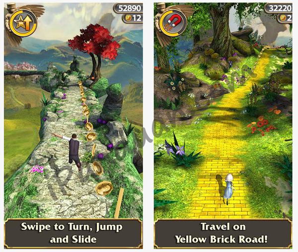 Game android, Temple Run : OZ
