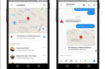 Maps, Google Maps, Melacak Lokasi, Facebook Messenger