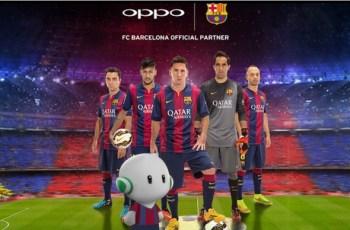 Oppo, Barcelona, Sponsorship