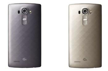 LG G4 Gold, LG G4 Black Titanium
