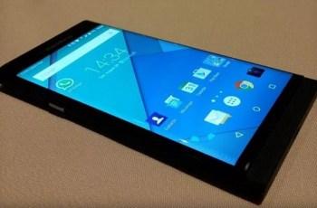 Smartphone, BlackBerry Android, Venesia