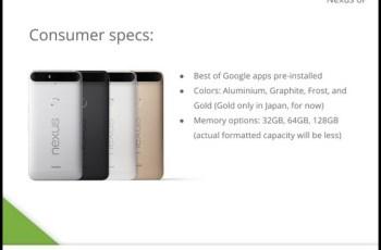 Google Nexus 6P , Huawei