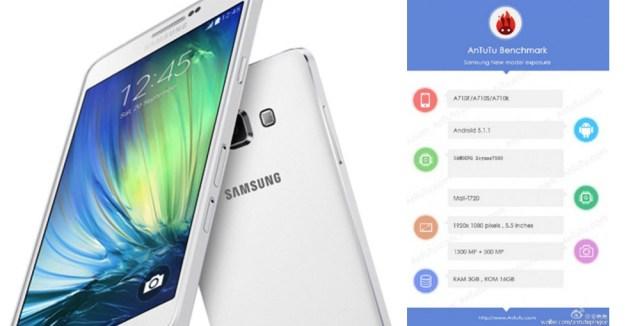 Rumor , Samsung Galaxy A7 (2016)