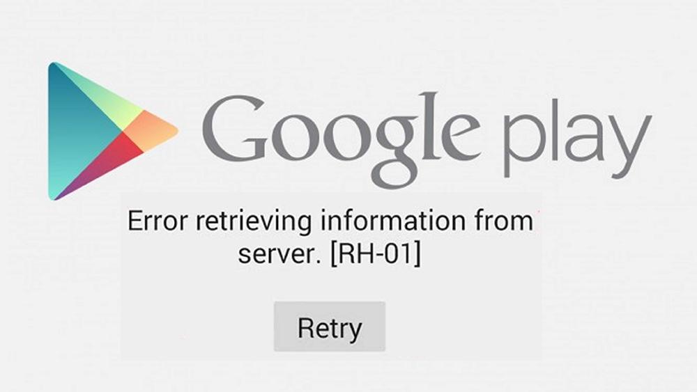 Cara Mengatasi Error RH-01 Google Play Store