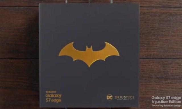 Samsung Galaxy S7 Edge, Batman
