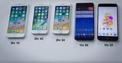 Teknologi OnePlus 5 Dash Charge Mengalahkan QC Samsung S8+, Apple iPhone 7, iPhone 8 dan iPhone 8+