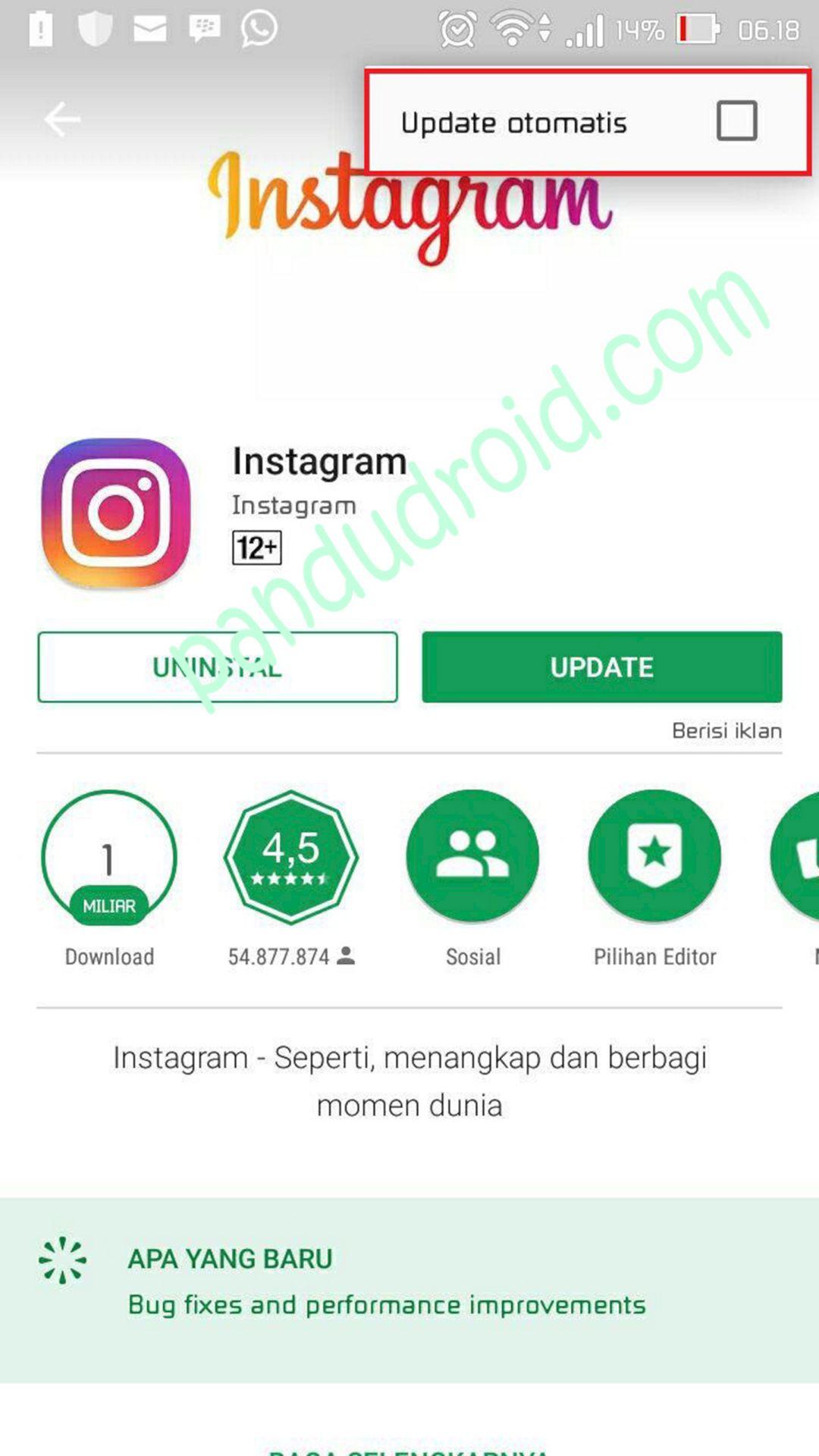 Learn how to change and set the app icon in android studio. Cara Mematikan Auto Update Pembaharuan Otomatis Aplikasi Pada Android Tip Trik Panduan Android Indonesia