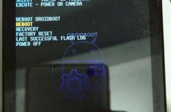 Menu Droidboot