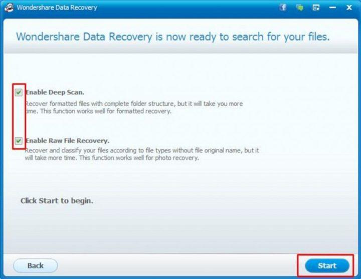 Wondershare Data Recovery 4
